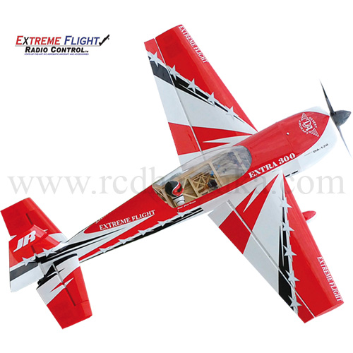 "Extreme Flight Extra 300 78"" GP - Red"
