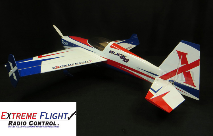 "Extreme Flight Slick 580 EXP 105.5"" Red/White/Blue"