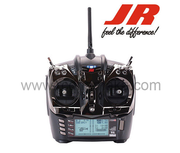 JR XG8 - 8Ch Telemetry Radio - Black with XBus